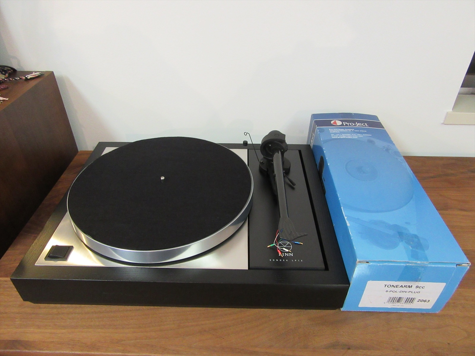 LINN LP12 + Project 9cc 中古